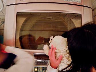 2A 從洗衣機上蓋玻璃觀看洗衣機的洗滌過程~