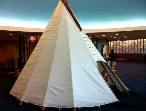 Exploring imagiNATION, the family activity center at the American Indian Museum