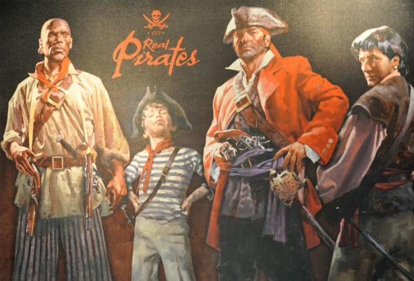 """Real Pirates"" will be at the National Geographic Museum through September 2"