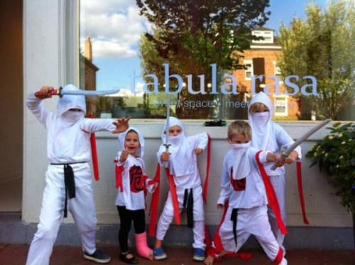 Ninjas take over The Tabula Rasa