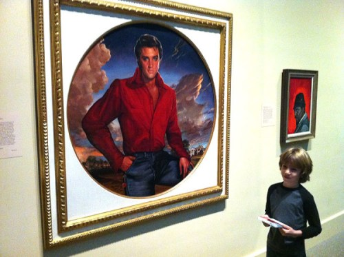 The King & O! Elvis is the focus of this week's Portrait Story Days at the National Portrait Gallery.