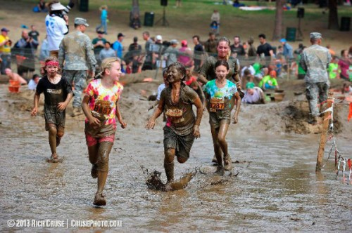 Plenty of mud and fun at the Merrell Down & Dirty Obstacle Race
