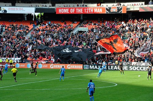 Kick up the sports action at a DC United match on Saturday evening