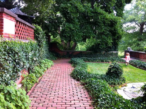 Dumbarton Oaks Gardens is among the many places where admission will be free during Museum Day Live!