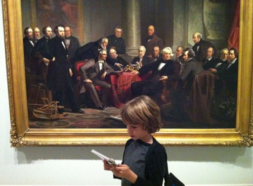 Exploring art at the National Portrait Gallery