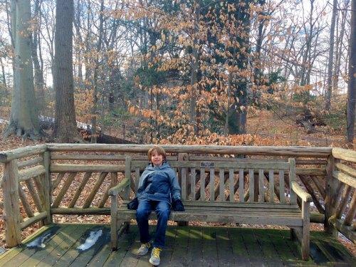 Winter chillin' at the Arboretum