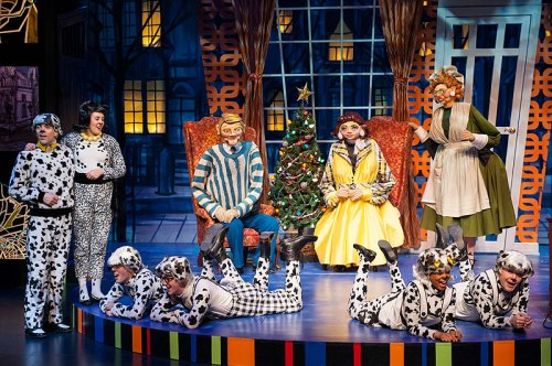 Catch 101 Dalmations at Imagination Stage through January 4