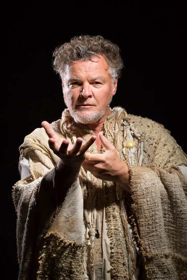 Geraint Wyn Davies as Prospero in The Temptest, on stage December 2 - January 11. Photo by Scott Suchman, Courtesy Shakepeare Theatre Company