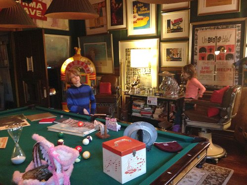 So much to see in the Billiards Room