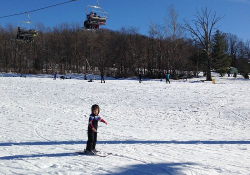 Take advantage of the season -- go skiing!