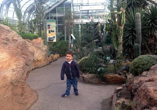 Little ones love exploring the Botanic Garden