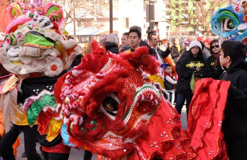 It may as well be Weekend of the Sheep with all the Chinese New Year celebrations happening!