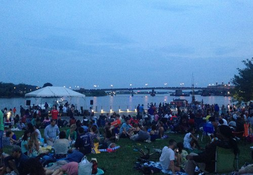 Friday night concerts at Yards Park are a great way to kick off a summer weekend