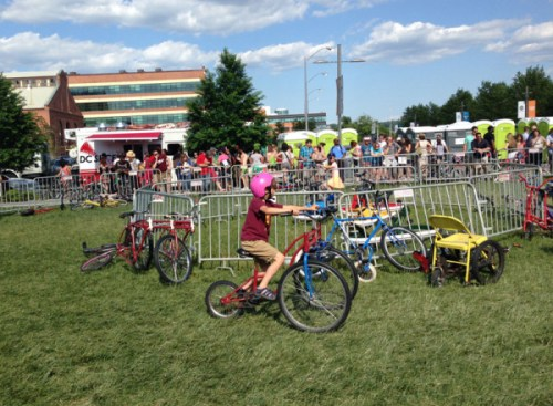 Bicycles and bemusement at Tour de Fat