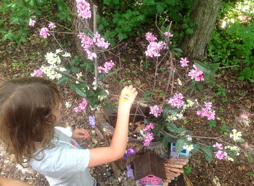 Make a wish at Annmarie Sculpture Gardens...