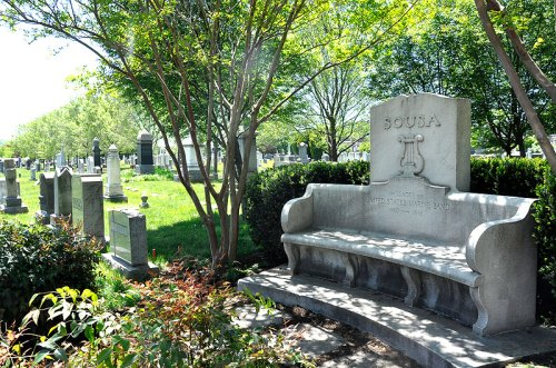 History - and goats! - at Congressional Cemetery
