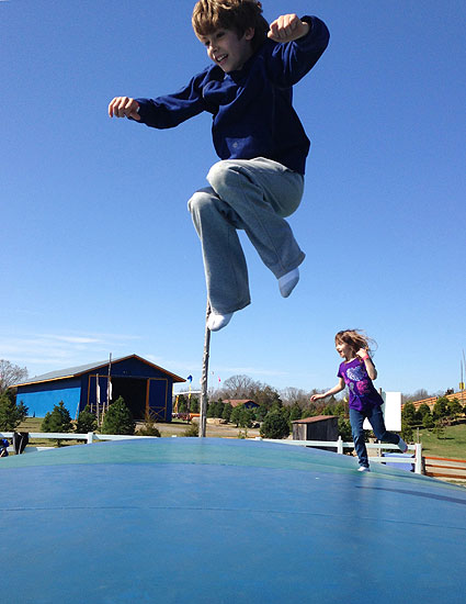 Jump for joy...fall festivals are in season!