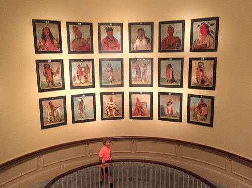 Tour the exhibits and make some art at the National Portrait Gallery