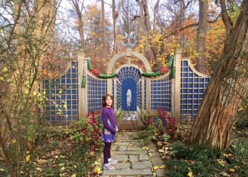 The beautiful gardens at Dumbarton Oaks