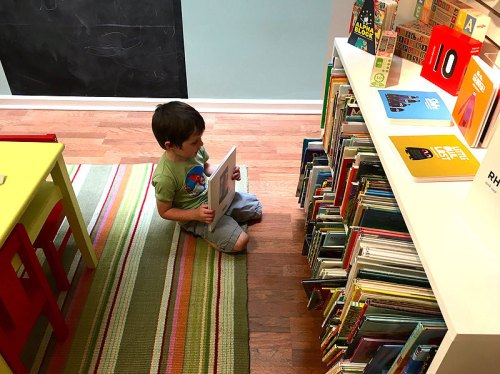 Enjoy story hour and browse the inventory at East City Bookshop (Photo by my friend Jody)
