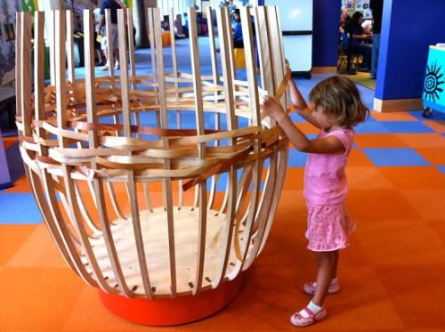 Basketweaving 101 at the American Indian Museum