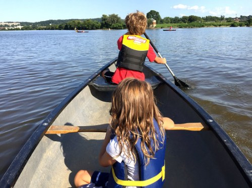 Explore the river with the Anacostia Watershed Society on a Paddle Night