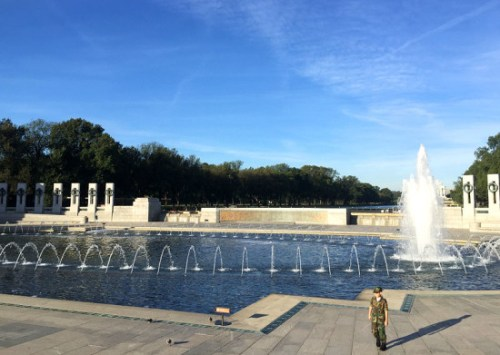 A memorial tour is a great way to observe this weekend's holiday and enjoy a day in DC