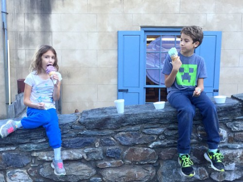 Sweet treats after a hike in Harpers Ferry