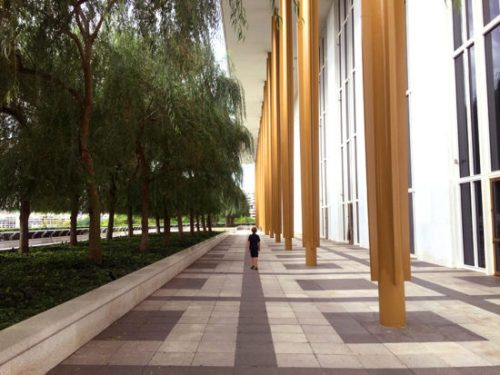 The Kennedy Center, where you can celebrate Hispanic Heritage and join in a BIG HUG