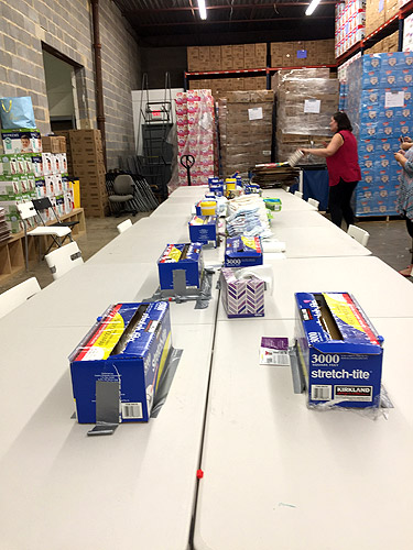 DC Diaper Bank welcomes all ages to bundle diapers and more at  their warehouse