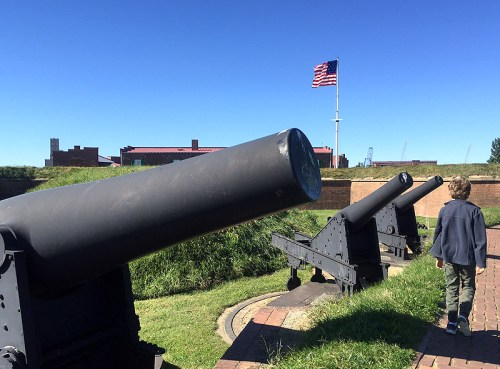 O, say can you see... the amazing historic sights at Fort McHenry