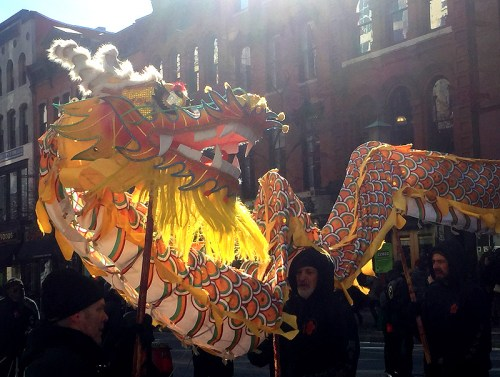 The Chinese New Year Parade is one of several ways to celebrate the Year of the Rooster
