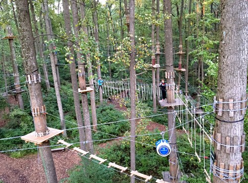The Adventure Park at Sandy Spring is open for the season!