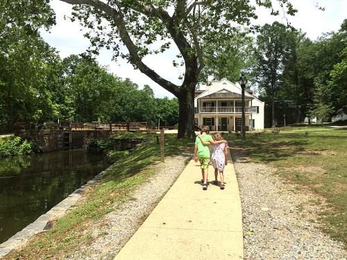 Local explorations and sibling bonding at Great Falls