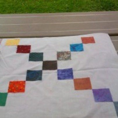 checker board craft - a fun thing to do with kids