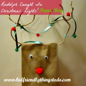 How to make a Rudolph out of a paper bag, How to make homemade Reindeer food, and a Poem to go with the food for parties!!!!