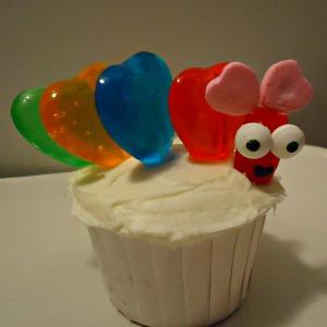 Love Bug Cupcake