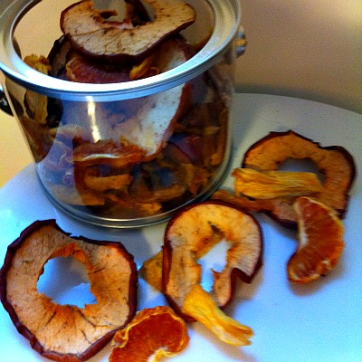 DIY Dehydrated Fruit