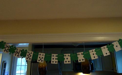 St. Patrick's Day Garland Craft