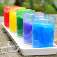 Easy Homemade DIY Kid Friendly Finger Paints
