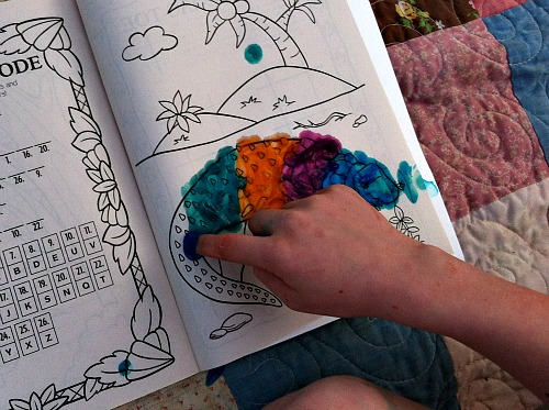 Kid Friendly Finger Paint Recipe
