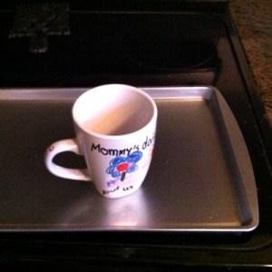 Setting Permanent Marker On Ceramics