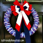 Making A Wreath Out Of A Pool Noodle!