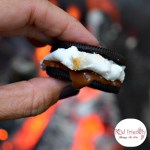 S'moreos - When a Campfire Meets a Cookie! - A twist on the traditional S'more that is so fun and delicious! Great Kid Summer Fun! KidFriendlyThingsToDo.com