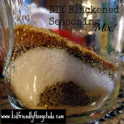 DIY Blackened Seasoning Mix