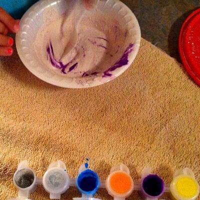 Homemade Chalk Recipe