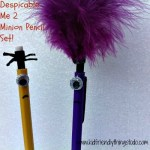 Despicable Me 2 Minion Pencil Set Craft