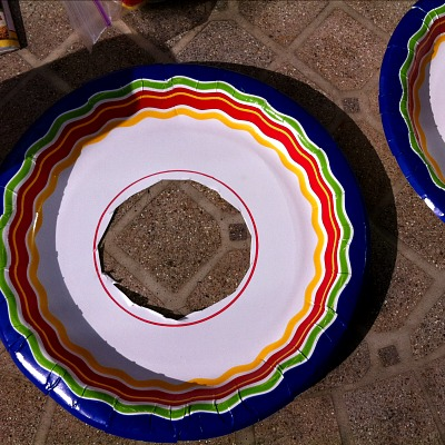 A Paper Plate Sombrero Craft