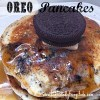 Oreo Cookie Pancakes! A fun way to surprise the kids on a weekend, or snow day!