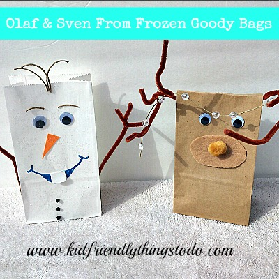 Olaf From Frozen Goody Bag!